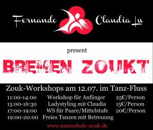 Bremen tanzt Zouk am 12.07.