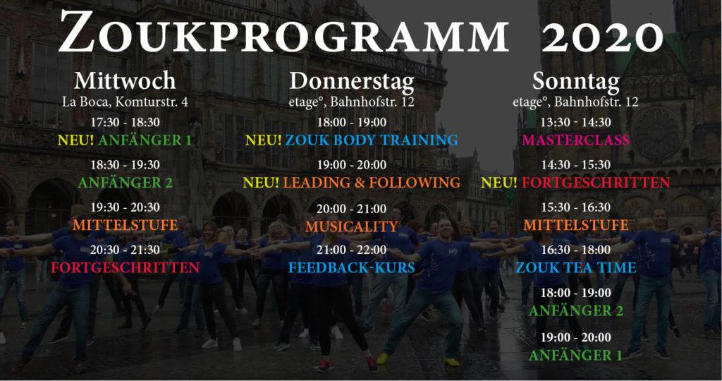 Zouk-Kurse in Bremen 2020