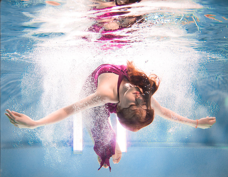 Zouk under water!